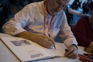 Julio Ribera, auteur de l'affiche du festival