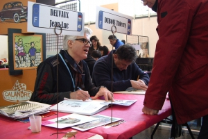 Dédicaces de Thierry Dubois & Jean-Luc Delvaux